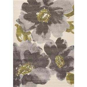 Kalora Camino Abstract Rug - 8' x 11' - Black