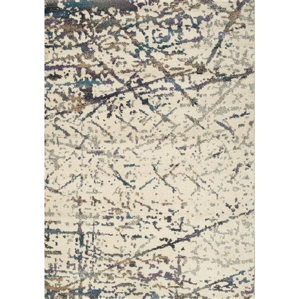 Kalora Ashbury Abstract Rug - 8' x 11' - Cream