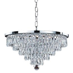 Vista 628T Glow 6-Light Chandelier - 16