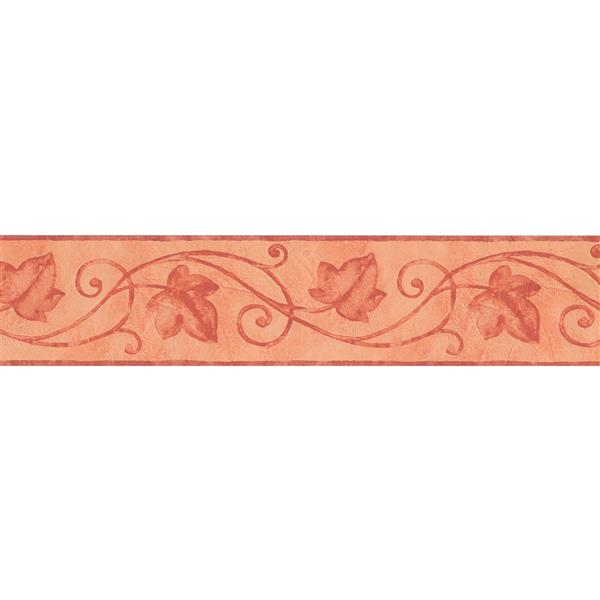 "Retro Art Wrought iron Fence Damask Wallpaper Border - 15' x 5"""