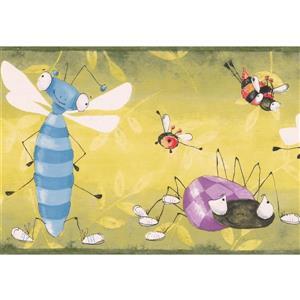 Bugs Bees Wallpaper Border - 15' x 7