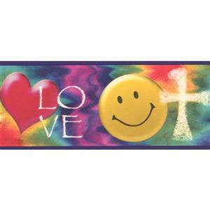 "Chesapeake Smile Love Heart Wallpaper Border - 15' x 4.75"""