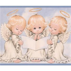 Chesapeake Baby Angels Wallpaper Border - 15' x 6""