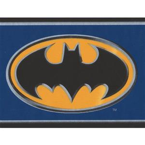 York Wallcoverings Batman Wallpaper Border - 15-ft x 4.25-in - Blue