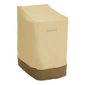 Classic Accessories Veranda Patio Chair Cover - Polyester - 33.5-in - Beige