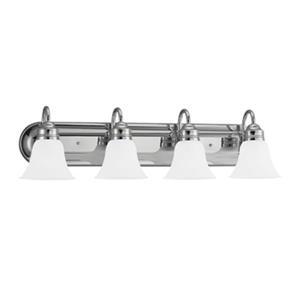 Sea Gull Lighting 4 Light Fluorescent Bar Bathroom