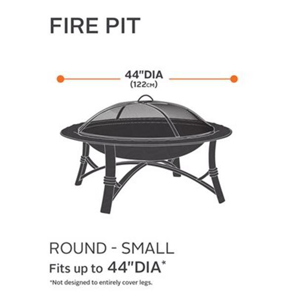 Classic Accessories 58992-EC Terrazzo Fire Pit Cover,58992-E