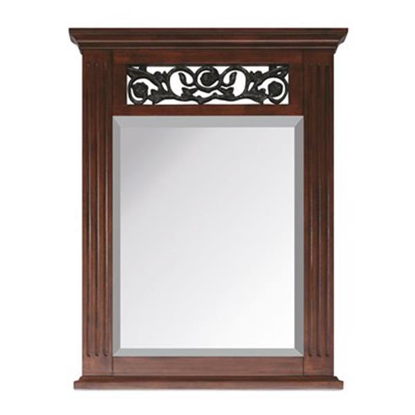 Avanity Napa Dark Cherry Bathroom Mirror,NAPA-M24-DC