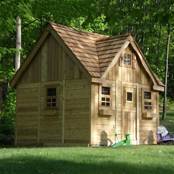 Outdoor Living Today LCP99 9-ft x 9-ft Cedar Lauren's Cottag