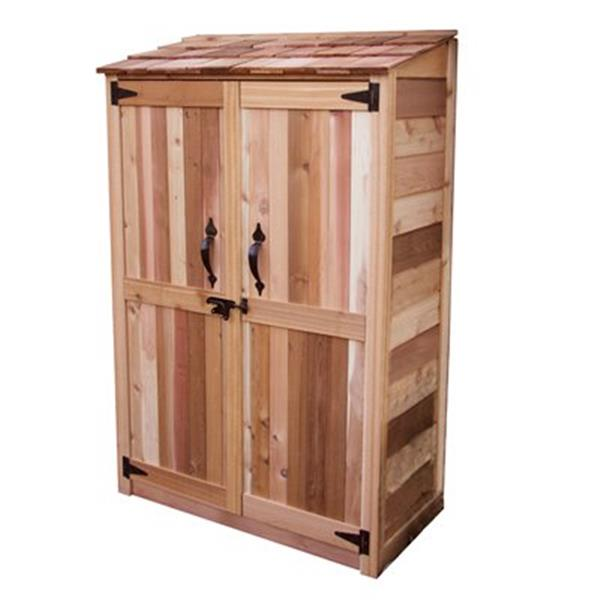 Outdoor Living Today 4-ft x 2-ft Cedar Garden Chalet ,GC42