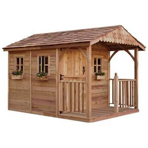 Outdoor Living Today 8-ft x 12-ft Cedar Santa Rosa Garden Sh