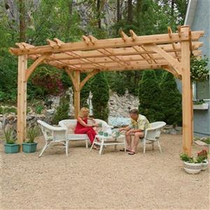 Outdoor Living Today BZ1012 10-ft x 12-ft Cedar Breeze Pergo