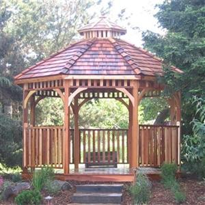 Outdoor Living Today BAYSIDE12 Bayside 12-ft Cedar Panelized
