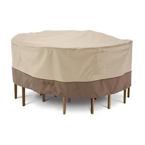 Classic Accessories 7 Veranda Round Patio Table and Chair Se