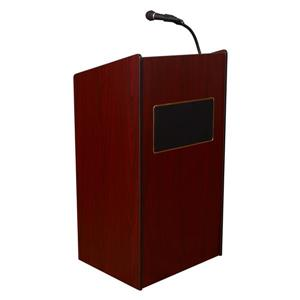 Oklahoma Sound Aristocrat Floor Lectern,6010-MY
