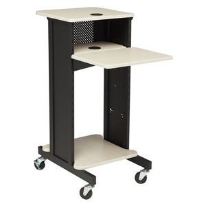 Oklahoma Sound Premium Presentation Cart,PRC200-Black