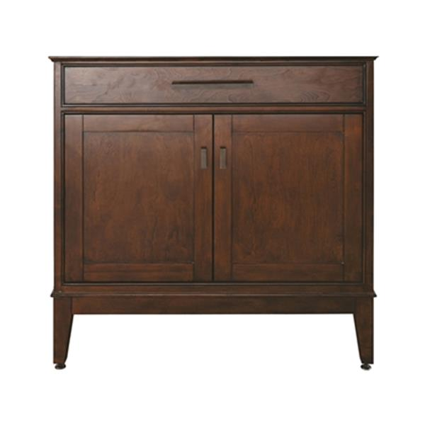 Avanity Madison 36-in Light Espresso Bathroom Vanity,MADISON