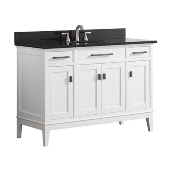 Avanity Madison 48-in Bathroom Vanity with Countertop and Un