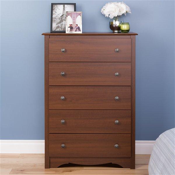 Prepac Furniture Monterey Five Drawer Chest,CDC-3345-K