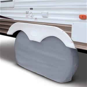 Classic Accessories 80-1 Overdrive Dual Axle Wheel Cover,80-