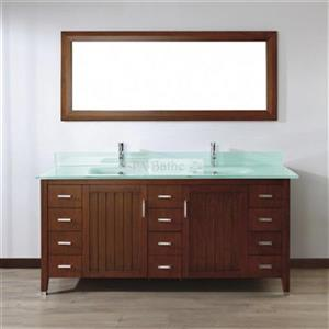 Spa Bathe 72-in JAQ Series Double Vanity,JA72CCMG