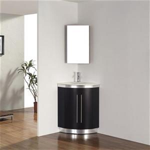 Spa Bathe 24-in Delucia Series Corner Vanity,DELUCIA31CORNER