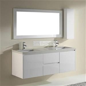 Spa Bathe 63-in Bach Series Double Vanity,BA63S-NQZ