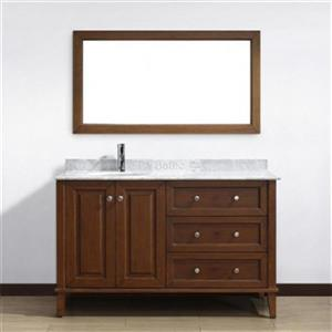 Spa Bathe 55-in Lauren Series Bathroom Vanity,LE55CC-CWM