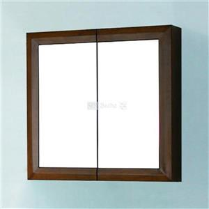Spa Bathe Storage Mirrored Cabinet with Double Doors,MC27CC