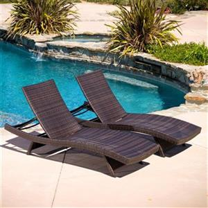 Best Selling Home Decor Toscana Outdoor Wicker Lounge Set,29