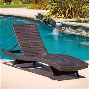 Best Selling Home Decor Toscana Outdoor Wicker Lounge Chair