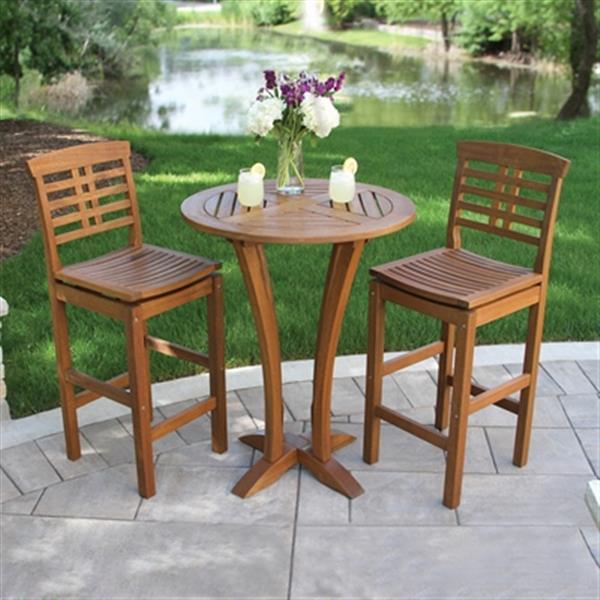 Outdoor Interiors Outdoor Bar Table,10023LRG