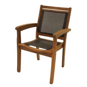 Outdoor Interiors 10555DK Outdoor Arm Chair,10555DK