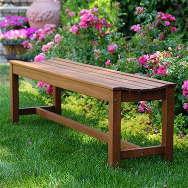 Outdoor Interiors Outdoor Backless Bench 60404 Rona