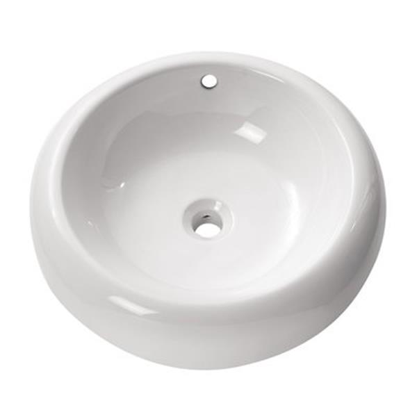 Avanity 19.7-in Round Above Counter Sink,CVE500RD