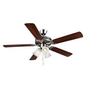 Monte Carlo Fan Company 52-in HomeBuilder III Ceiling Fan.