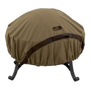 Classic Accessories 55-19 Hickory Round Fire Pit Cover,55-19