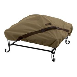 Classic Accessories 55-200-012401-EC Hickory Square Fire Pit