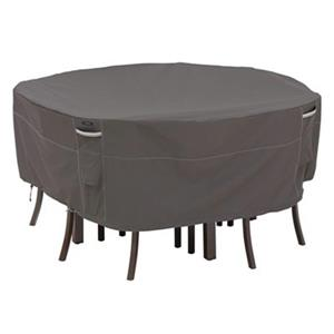 Classic Accessories 55-1 Ravenna Round Patio Table and Chair
