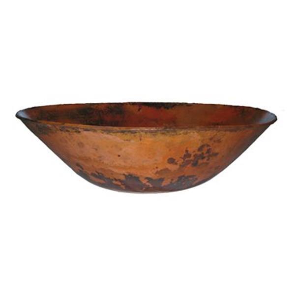 Novatto Bilboa Oval Copper Bath Vessel Sink,TCV-003NA