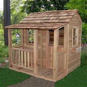 Outdoor Living Today LCP66 6-ft x 6-ft Little Cedar Playhous