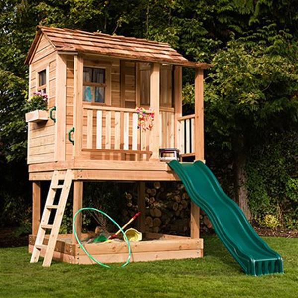 Outdoor Living Today Maisonnette pour enfants Outdoor Living Today, 6'x6', cèdre LCP66SBOX