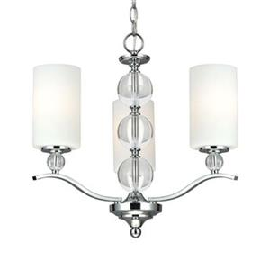 Sea Gull Lighting Englehorn 3-Light Chandelier