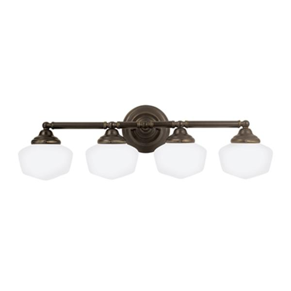 Sea Gull Lighting Academy 4-Light Bathroom Vanity Light