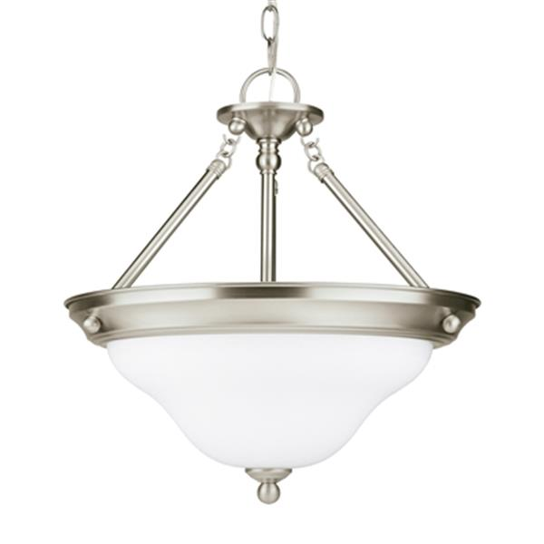 Sea Gull Lighting 3-Light Fluorescent Sussex Pendant
