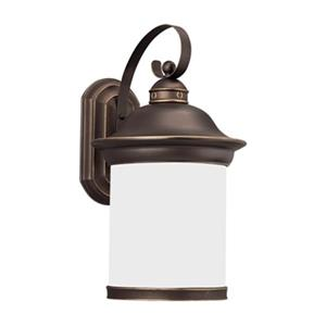 Sea Gull Lighting Hermitage 1-Light Fluorescent Outdoor Wall.
