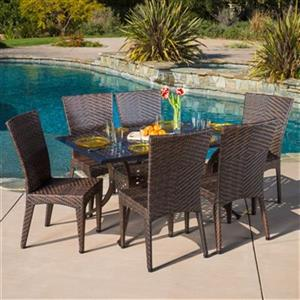 Best Selling Home Decor Brooke 7-Piece Outdoor Dining Set,29