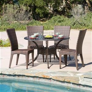 Best Selling Home Decor Brooke 5-Piece Round Outdoor Dining