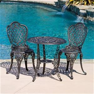 Best Selling Home Decor Cole 3-Piece Outdoor Bistro Set,2392