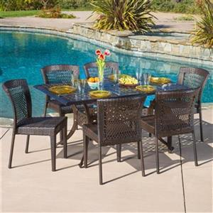 Best Selling Home Decor Dusk 7-Piece Outdoor Dining Set,2949